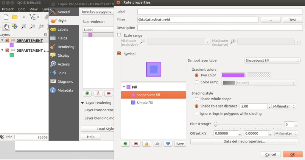 Masking features in QGIS 2 4 – Oslandia