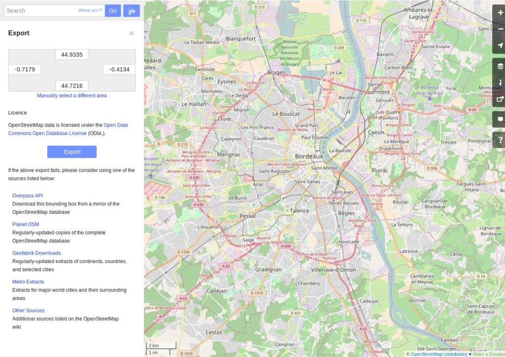 OpenStreetMap data analysis: how to parse the data with