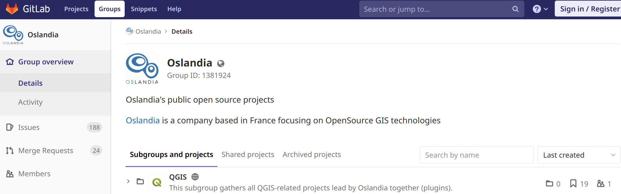 Oslandia migrates from GitHub to GitLab